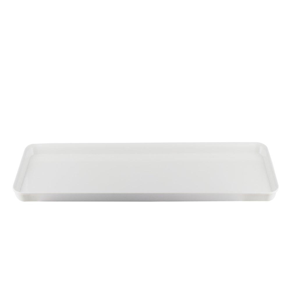 Bandeja melamina rectangular 50x18 cm