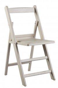Alquiler de sillas plegables de madera