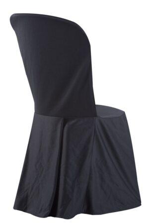 Alquiler de fundas negras para sillas