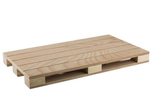 Bandeja madera palé 35x20 cm