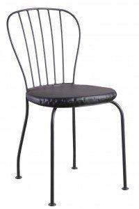 Alquiler de sillas de forja negras