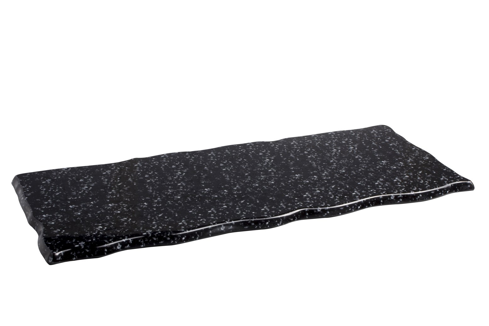 Bandeja de melamina textura granito
