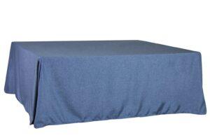Mantel Azul cuadrado