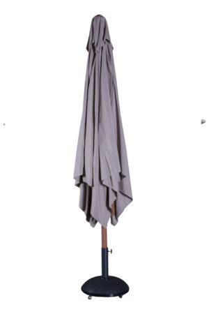 Parasol con pie