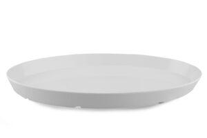 Bandeja Fuente blanca ovalada 43x26x4