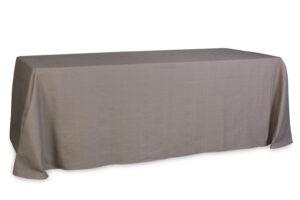 Mantel rectangular espiga canela 350x240
